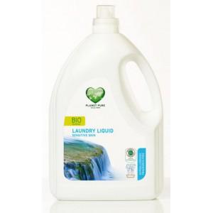 PLANET PURE, Органическое жидкое средство для стирки гипоаллергенное для чувствительной кожи, 3000мл (75 циклов стирки)