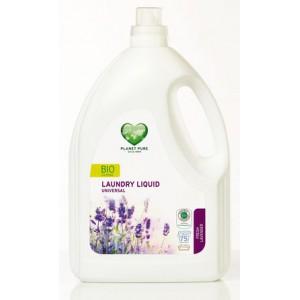 PLANET PURE, Органическое жидкое средство для стирки универсальное Свежая лаванда, 3000мл (75 циклов стирки)