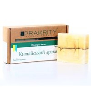 PRAKRITY, Натуральное мыло холодной варки КИТАЙСКИЙ ДРАКОН, 75г