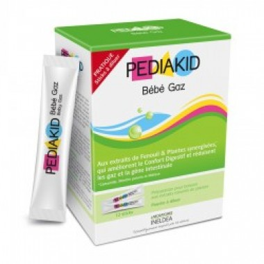 Pediakid, СТИКИ ДЛЯ СНЯТИЯ ВЗДУТИЯ ЖИВОТА (БЕБИ ГАЗ) / BEBE GAZ упаковка 12 стиков
