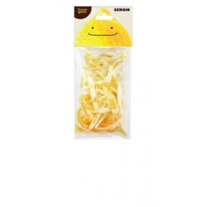 SERGIO, 100% натуральные Лимонные цукаты, 100г