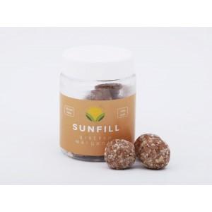 SUNFILL, 100% натуральні цукерки МАРЦИПАН, 160 г