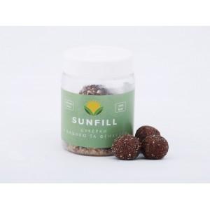 SUNFILL, 100% натуральні цукерки з ВИШНЕЮ і фенхель, 160 г