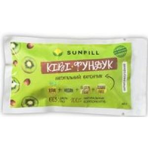 SUNFILL, 100% натуральний батончик КИВИ фундук, 40 г