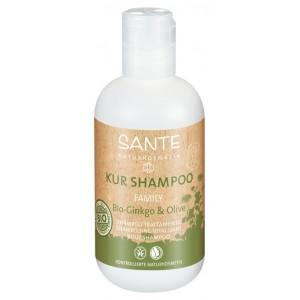 Sante, БИО-Шампунь для волос восстанавливающий Гинкго Билоба и Олива (для всей семьи), 200 мл