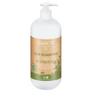 Sante, БИО-Шампунь для волос восстанавливающий Гинкго Билоба и Олива (для всей семьи), 500 мл