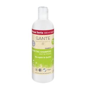 Sante, БИО-Шампунь для ежедневного ухода за волосами Яблоко и Айва (для всей семьи), 300мл