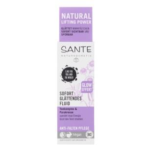 Sante, БИО-Крем-флюид разглаживающий против морщин с эффектом здорового сияния, 30мл