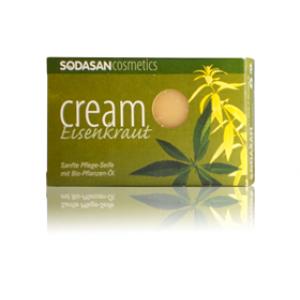Sodasan, Organic Мыло-крем Verbena для лица с маслами Ши и Вербены 100 г