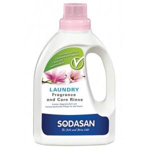 Sodasan, Organic Кондиционер для белья с эфирными маслами лаванды, розы, магнолии и герани, 0,75 л = 22 цикла стирки