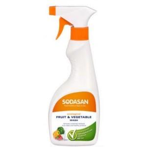 Sodasan, Органічне Засіб для миття овочів і фруктів Содасан, 500 мл
