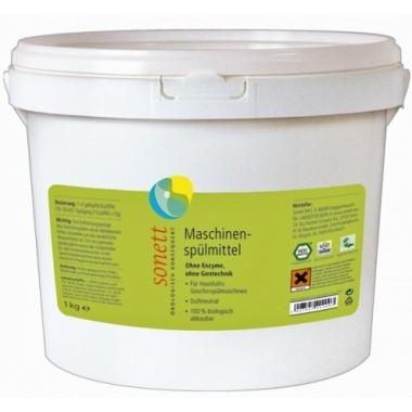 Sonett, Органический порошок для посудомоечных машин, концентрат Сонетт, 1 кг = 50 циклов мойки