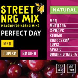 Streetnrgmix, Мед акации+5 видов орехов+вишня, 60г