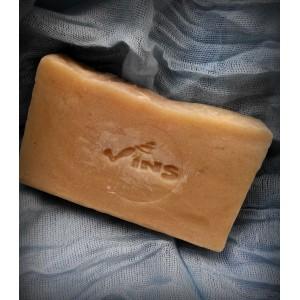 VINS, Натуральное мыло ручной работы СУДАНСКАЯ РОЗА с эфирным маслом ванили, 80г