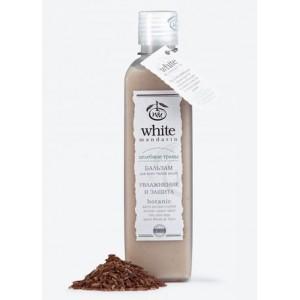 """White Mandarin, Бальзам для всех типов волос УВЛАЖНЕНИЕ И ЗАЩИТА Серия """"Целебные травы"""" Белый Мандарин, 250 мл"""