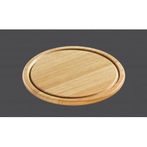 Zassenhaus, Разделочная доска деревянная, БУК, диаметр 24 см