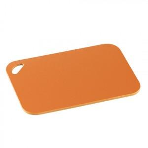 Zassenhaus, Разделочная доска из пищевого пластика высокой плотности, цвет ОРАНЖЕВЫЙ, размер 29х20х1 см