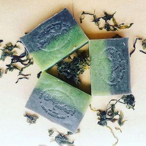 Амбра, 100% Натуральное мыло Мертвое Море грязевое, 100 гр