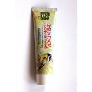 Еколюкс, Натуральна зубна паста профілактична з маслом зеленого волоського горіха, 100мл
