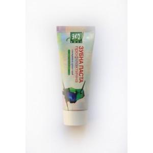 Еколюкс, Натуральна Зубна паста профілактична з екстрактом лугових трав, 75мл