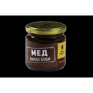 МЕДИК-ВЕДМЕДИК, Натуральный мед с какао бобами, 250 гр