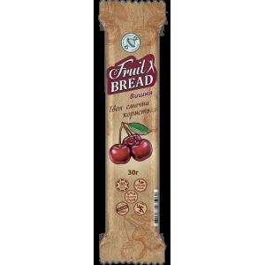 Конфета Фруктовый хлеб ВИШНЯ, без сахара, 30г