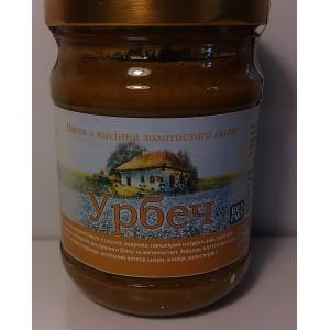 УРБЕЧ, Натуральна паста з насіння золотого льону, 250г