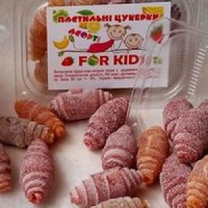 """МЕД-пасту, пастильних асорті для дітей """"For Kids"""", 50г"""