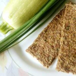 Живой вкус, 100% натуральные Хлебцы Кабачковые, 100 г