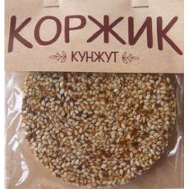 КОРЖИК натуральный КУНЖУТ, 50г+-5г