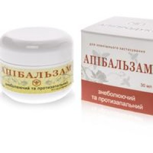 АПИБАЛЬЗАМ Обезболивающий и Противовоспалительный, 100% натуральный продукт, 30 мл