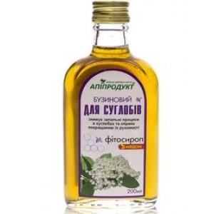 Бузиновый фито сироп с медом ДЛЯ СУСТАВОВ, 100% натуральный продукт, 200 мл