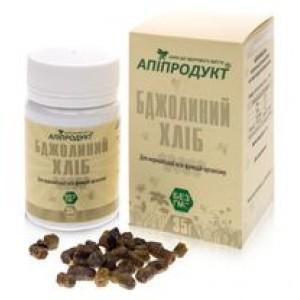 БДЖОЛИНИЙ ХЛІБ - перга (квітковий пилок збагачена), 100% натуральний продукт, 35 г
