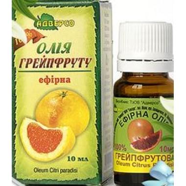 АДВЕРСО, Ефірна олія грейпфрута, 10мл