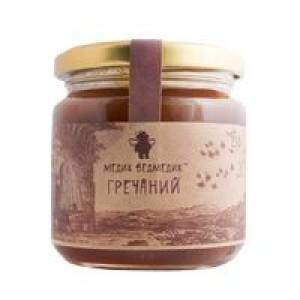 МЕДИК-ВЕДМЕДИК, Натуральный мед ГРЕЧНЕВЫЙ, 250г