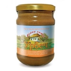 УРБЕЧ, Натуральна паста з кісточок абрикоса, 250г