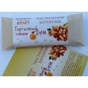 МЕД-ПАСТИЛА, Натуральный пастильный батончик Ореховый бум с медом, 40г