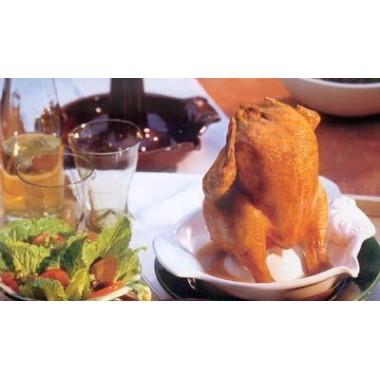 Жаровня для курчати Chicko-RОEMERTOPF® біла